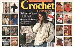Crochet Fantasy Afghans, No. 152, October 2001