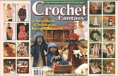 Crochet Fantasy Afghans, No. 153, November 2001