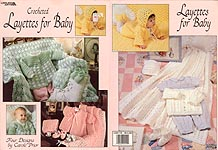 Leisure Arts Crochet Layettes For Baby