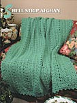 Annie's Crochet Quilt & Afghan Club Shell Strip Afghan