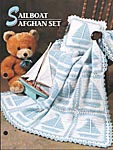 Annie's Crochet Quilt & Afghan Club Sailboat Afghan Set