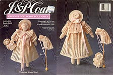 J & P Coats Crochet Collector Doll No. 1: Victorian School Girl
