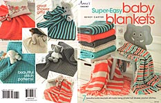 Annie's Super- Easy Baby Blankets BORDER=