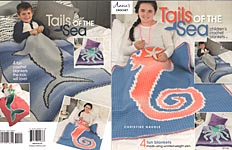 Annie's Tails of the Sea Children's Crochet Blankets