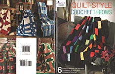 Annie's Quilt- Style Crochet Throws