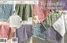 Annie's Tunisian Baby Afghans to Crochet (2018)