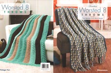 Herrschners Worsted 8 Throws, Volume 5