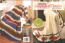 Herrschners Language of Flowers Ripple Afghans