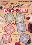 Leisure Arts Filet Potholders