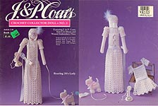 J & P Coats Crochet Collector Doll No. 3: Roaring 20s Lady