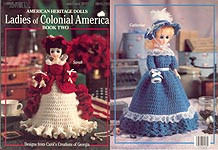 Leisure Arts Ladies of Colonial America. Book 2 (15 inch dolls)