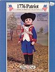 1776 Patriot colonial soldier's uniform for 16 inch boy doll