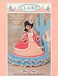 Claire, Southwestern period outfit for 15 inch fashion doll.