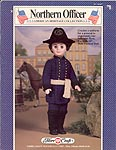 Northern Officer uniform for 16 inch maile fashion doll