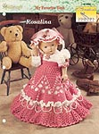 Rosalina beaded dress, hat, and purse for 18 inch doll