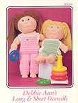 Annie's Attic Debbie Ann Long & Short Overalls