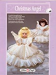"Christmas Angel Pillow Doll or dress for 13"" musical or bed doll."