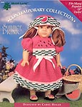 Shady Lane Summer Picnic dress for 18 inch dolls.