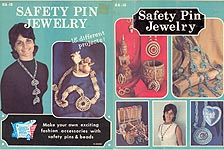 Hazel Pearson Handicrafts Safety Pin Jewelry