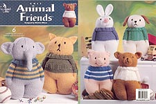 Annie's Attic Knit Animal Friends