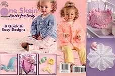 American School of Needlework One Skeins Knits for Baby