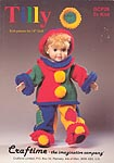 Craftime Tilly Clown Outfit to Knit for 18 inch dolls