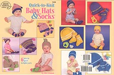 ASN Quick- to- Knit Baby Hats & Socks