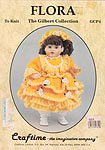Craftime The Gilbert Collection: Flora to KNIT for 16 inch Teena dolls