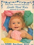 Bear Brand Lovable Hand Knits Infants to 4 Years