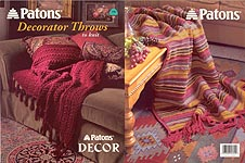 Patons Decorator Throws to KNIT