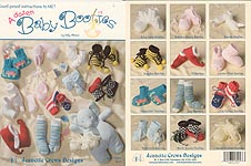 Jeanette Crews KNIT A Dozen Baby Booties