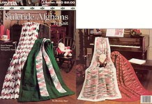 Leisure Arts Yuletide Afghans to KNIT
