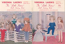 "Virginia Lakin's The ""Little Sisters"" Doll Knitting Book"