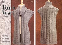 Annie's Attic KNIT Tunic Vest