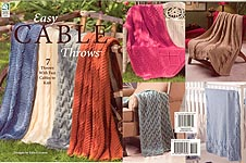 HWB KNIT Easy Cable Throws