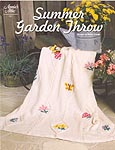 Annie's Attic KNIT Summer Garden Throw