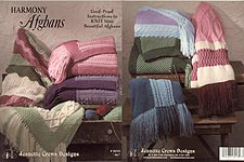 Jeannette Crews KNIT Harmony Afghans