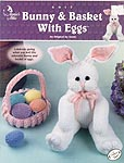 Annie's Attic KNIT Bunny & Basket With Eggs