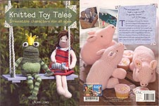 David & Charles Ltd. Knitted Toy Tales