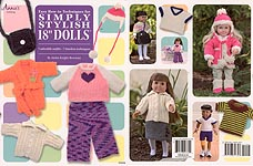 "Annie's Easy How-To Techniques to KNIT: Simply Stylish 18"" Dolls"