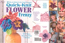 Annie's Quick- KNIT Flower Frenzy