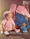 "KNIT Bellmans Dolls Clothes (Sizes 16, 18, or 20"" Doll)"