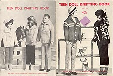 Virginia Lakin Teen Doll  Knitting Book 2