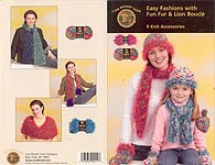 Lion Brand KNIT Easy Fashions with Fun Fur & Lion Boucle