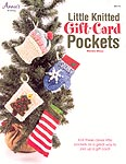 Annie's Little KNITTED Gift Card Pockets