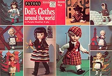 KNIT Patons Doll's Clothes Around the World