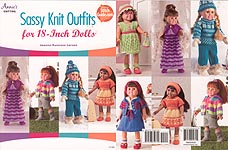 Annie's Sassy KNIT Outfits for 18 Inch Dolls