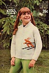 KNIT King Patterns No. 4000: Children's Cardigan