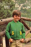 KNIT King Patterns No. 5000: Kiddies' Cardigan