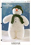 KNIT Sirdar 4134: The Snowman